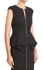 Ted Baker London Black Jumana Textured  Peplum Dress Ted 3 US 8 $315