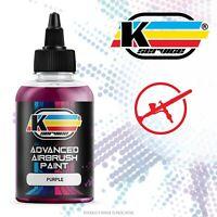 Colore acrilico vernice ad acqua per aerografo PROFESSIONALE PORPORA 50ML