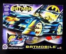 "Batman 20"" Batmobile 2 in 1 Vehicle Mattel DC New Robin Motorcycle 2003"