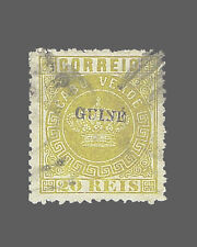 VINTAGE: PORTUGUESE GUINEA-PORTUGAL 1879 USD BH SCOTT # 2 $250 LOT #1879X75X