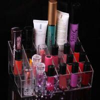 Women's Cosmetic Display Stand Makeup Organizer Lipstick Jewelry Storage Box