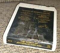 The Worst of the Jefferson Airplane 8 Track Tape 1970 RCA #P8S1653 greatest hits