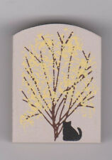 "Cat's Meow Village Retired Accessory ""Forsythia Bush"" New/Free Shipping"