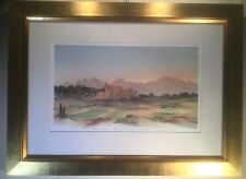 Rural France By HRH The Prince Of Wales Limited Edition Print Of Watercolour
