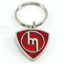 RED - M ROTOR KEYCHAIN RX7 R100 RX2 RX3 WANKEL MAZDASPEED TURBO 12A 13B 20B