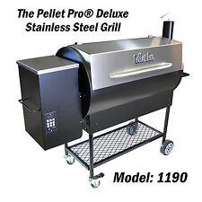 Pellet Pro® Deluxe 1190 Pellet Grill Smoker With 35# hopper & FREE BBQ Pellets