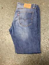 LEVIS 527 MEN'S MID BLUE BOOT CUT VINTAGE JEANS W33 L30
