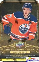 2018/19 Upper Deck Series 1 Hockey Factory Sealed 12 Pack TIN-3 YOUNG GUN RCS