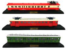 Lot de 3 Automotrices des Réseaux Français SNCF Ho 1/87 Train Locomotive Atlas