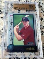 MICHAEL MIKE CUDDYER 1998 Bowman Chrome Rookie Card RC BGS 9.5 10 Twins 197 HRs