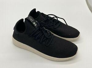 adidas Pw Tennis Hu Black/White Men's Size 7.5 NEW WITHOUT BOX