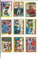 Lot of (133) Mike Schmidt Baseball Cards Vintage HOF MLB Philadelphia PHILLIES