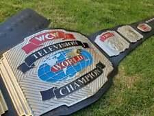 WCW WORLD TELEVISION WRESTLING CHAMPION BELT