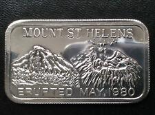 1982 Golden State Mint Mount St. Helens Silver Art Bar GOLD-1 A1971