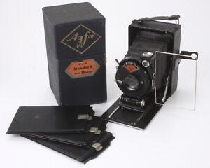 AGFA STANDARD NO. 204, 104/4.5 AGFA (HAZE), BOXED, STUCK UNIT FOCUS/cks/189174