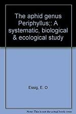 The aphid genus Periphyllus : a systematic, biolog