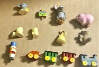 Lot of Dollhouse Miniature Assorted Accessories Room Items Decor Vintage