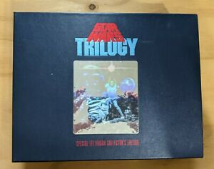 Star Wars Trilogy VHS Special Letterbox Collector's Edition Box Set