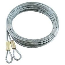 Pair of Garage Door Safety Cables for a 7' or 8' tall door