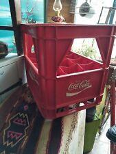 Vintage Coca Cola Plastic 12 bottle holder crate