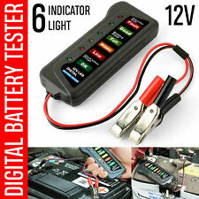 LED 12V Car Battery Load Tester Alternator Diagnostic Tool Battery Analyzer Auto