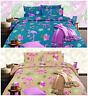 Flamingo Design Premium Quality Printed Duvet Quilt Cover Bedding Set All Sizes