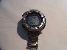 Casio Protrek PRW-2500-1 Wrist Watch for Men Good Working Condition