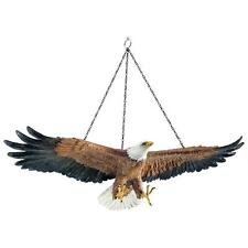 Flight Of Freedom Hanging American Eagle Design Toscano Exclusive Sculpture