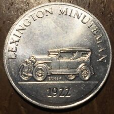 JETON TOKEN ANTIQUE CAR COIN SÉRIE 2 LEXINGTON MINUTEMAN 1922 (440)