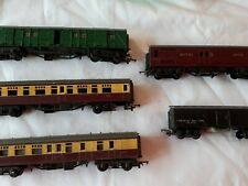 Lot Of 5 Vintage Triang Hornby Carriages