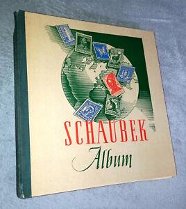 Schaubek-Briefmarkenalbum/Vordruckalbum (60er Jahre)