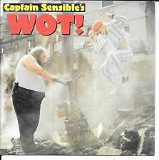 "45 TOURS / 7"" SINGLE--CAPTAIN SENSIBLE'S --WOT / STRAWBERRY DROSS--1982"