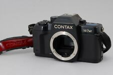 [Exc+++]CONTAX 167MT 35mm SLR Film Camera w/ Genuine strap from Japan#102-022628
