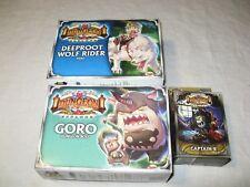 Deeproot Wolf Rider hero+Captain R+Goro boss NEW Super Dungeon Explore Ninja Div