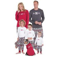 Set Snowflake  Christmas Pajamas Xmas Clothing Family Sleepwear Nightwear