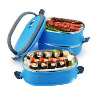Insulation Thermal Lunch Box Stainless Steel Food Storage Container Portable Ben