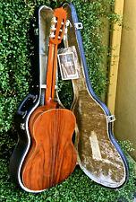 Vtg Aria Ac-40 Concert Guitar Nylon String Classical Acoustic Japan Rare! + Case