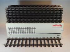Märklin Spur 1 Nr. 5903 10 Stück Gleisstück Gerade Schiene 300mm in O-Box #1669