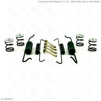 VW Beetle Front Brake Shoe Fitting Kit - 1965 to 1979