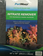 CUT-TO-FIT Filter Pad NITRATE REMOVER 25cm X 45cm