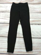 Next Thick Black Leggings Skinny Stretch Size 10 R