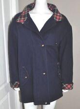 Mackintosh of New England Women's Coat Jacket Size 10 Blue