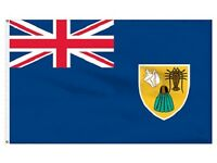 3x5 Turks and Caicos Flag 3'x5' Banner Polyester Indoor Outdoor fade resistant