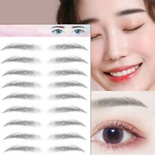 6D Eyebrows Tattoos Waterproof Eyebrow Transfers Stickers Lasting Makeup 9 Pair