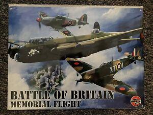 Battle Of Britain Memorial Flight Metal Sign 40cm X 30cm New