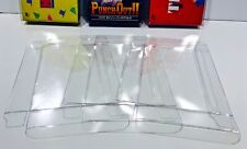 5 FAMICOM Box Protectors  Custom Made Clear Cases CIB Games.  JGBC Japanese