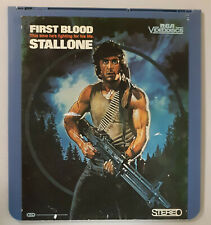 First Blood Sylvester Stallone,Brian Dennehy CED RCA Selectavision VideoDisc