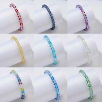 Fashion Moonstone Quartz Healing Beaded Bracelets Stone Stretchy Bracelets Women