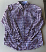 Men's Tommy Hilfiger Long Sleeve Plaid Button Down Shirt Pre-Owned Size L
