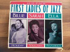 First Ladies of jazz 4 cd box set